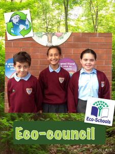 Our Eco-council representatives.