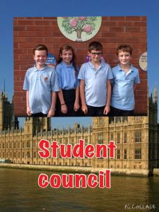 Year 5 Student councillors.